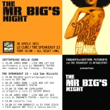 Mr Big NIght Fronte