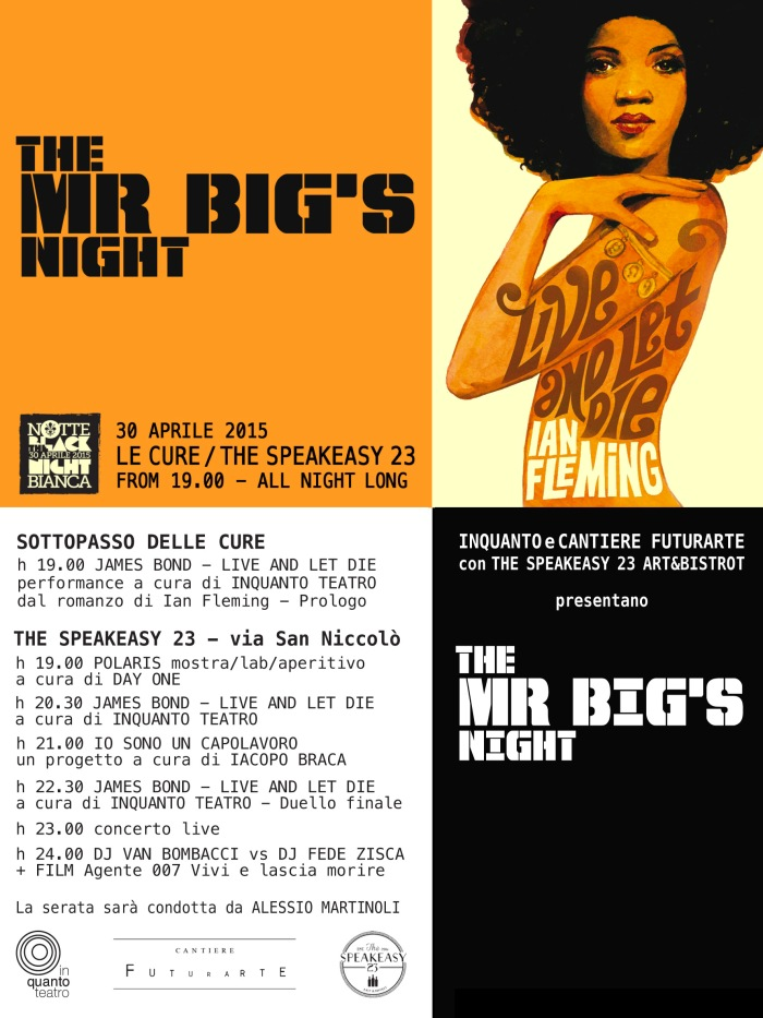 Mr Big NIght Fronte