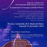 Opus Florentinum (2014) di Mario Luzi , regia di Giancarlo Cauteruccio